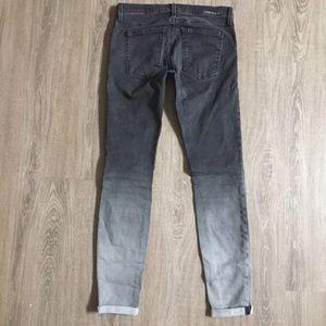 Current/Elliott Jeans - Current Elliot Women's Gray Ombré Jeans 28